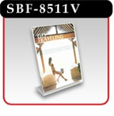Slant-Back Literature Holder - Vertical Style -#SBF-8511V