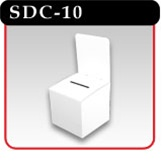 "Counter Top Ballot Box - 10""w x 10-1/4""d"