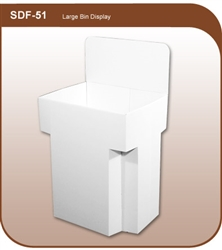 Large Bin Floor Display - SDF-51