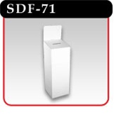Ballot Box With Base & Header Card -#SDF-71