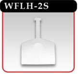 Wire Fixture Label Holder -#WFLH-2S