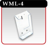 Wall and Counter Top Brochure Holder - #WML-4