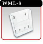 Wall and Counter Top Brochure Holder - #WML-8